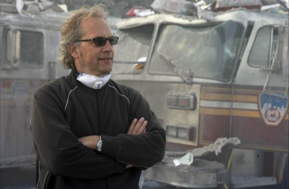 Jan Roelfs op de set. Foto NY Times.