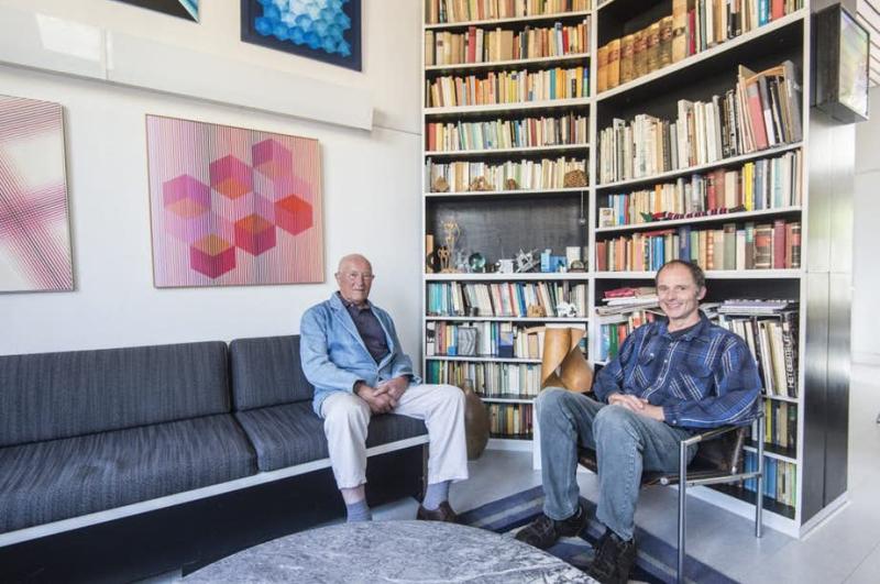 Bertus en Marco Mulder. Foto Robert Oosterbroek