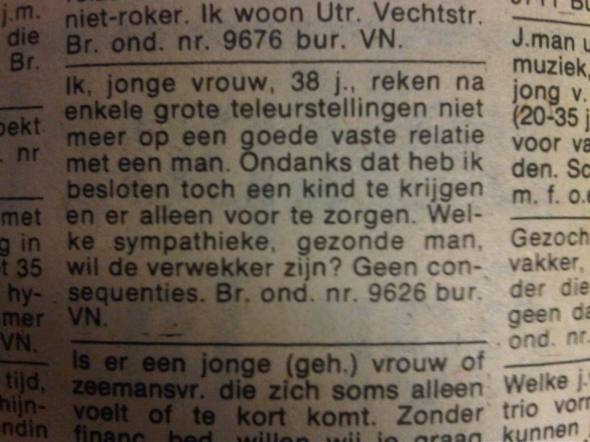 Advertentie VN 12 sep 1980