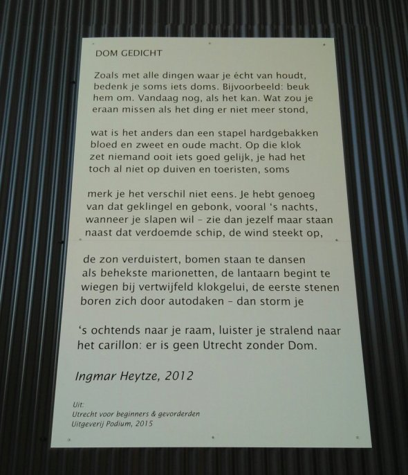 Dom gedicht Ingmar Heytze