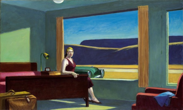Edward Hopper, Western Motel, 1957.