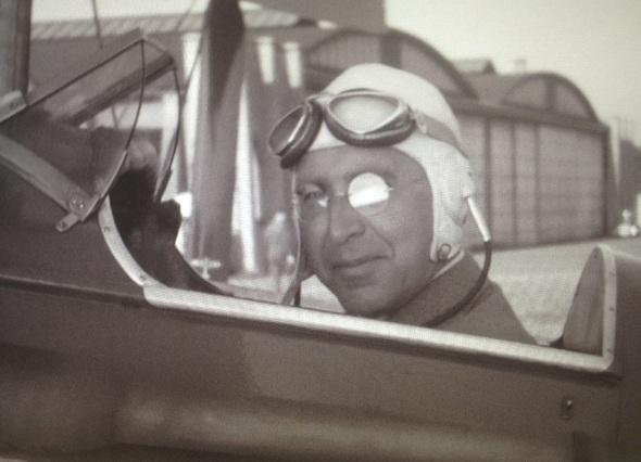 Jacob Mees vliegtuig