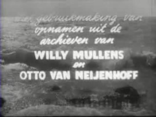 Openingstitel Land uit zee, Rudi Hornecker, 1950
