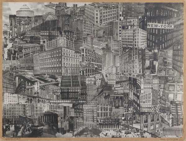Grosstadt, Paul Citroen, ca. 1920, Kunstmuseum Den Haag